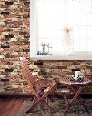 Peel Amp Stick Brick Pattern Wallpaper Dbs 16 60cm X
