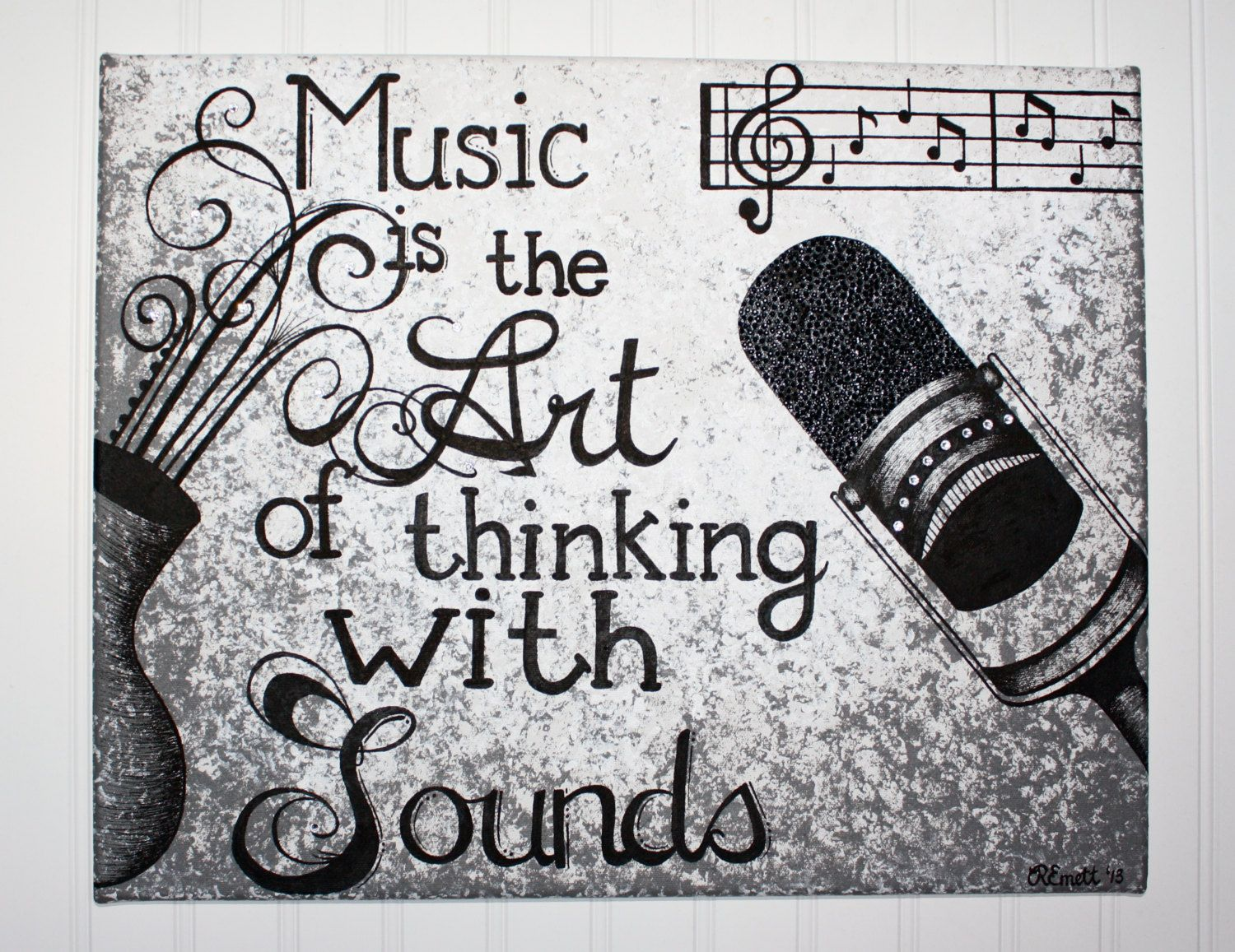music is the art of thinking with sounds sound of music music is the art of thinking with sounds