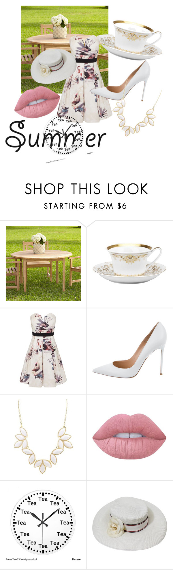 """TeaTeaTea☕"" by kandice-marie157 ❤ liked on Polyvore featuring interior, interiors, interior design, home, home decor, interior decorating, Rosenthal, Little Mistress, Gianvito Rossi and Charlotte Russe"