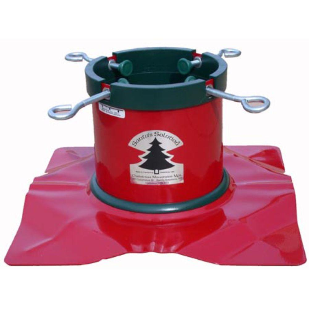 Santa S Solution High Quality Tree Stand For Live Trees Up To 9 Ft Christmas Tree Stand Tree Stand Large Christmas Tree