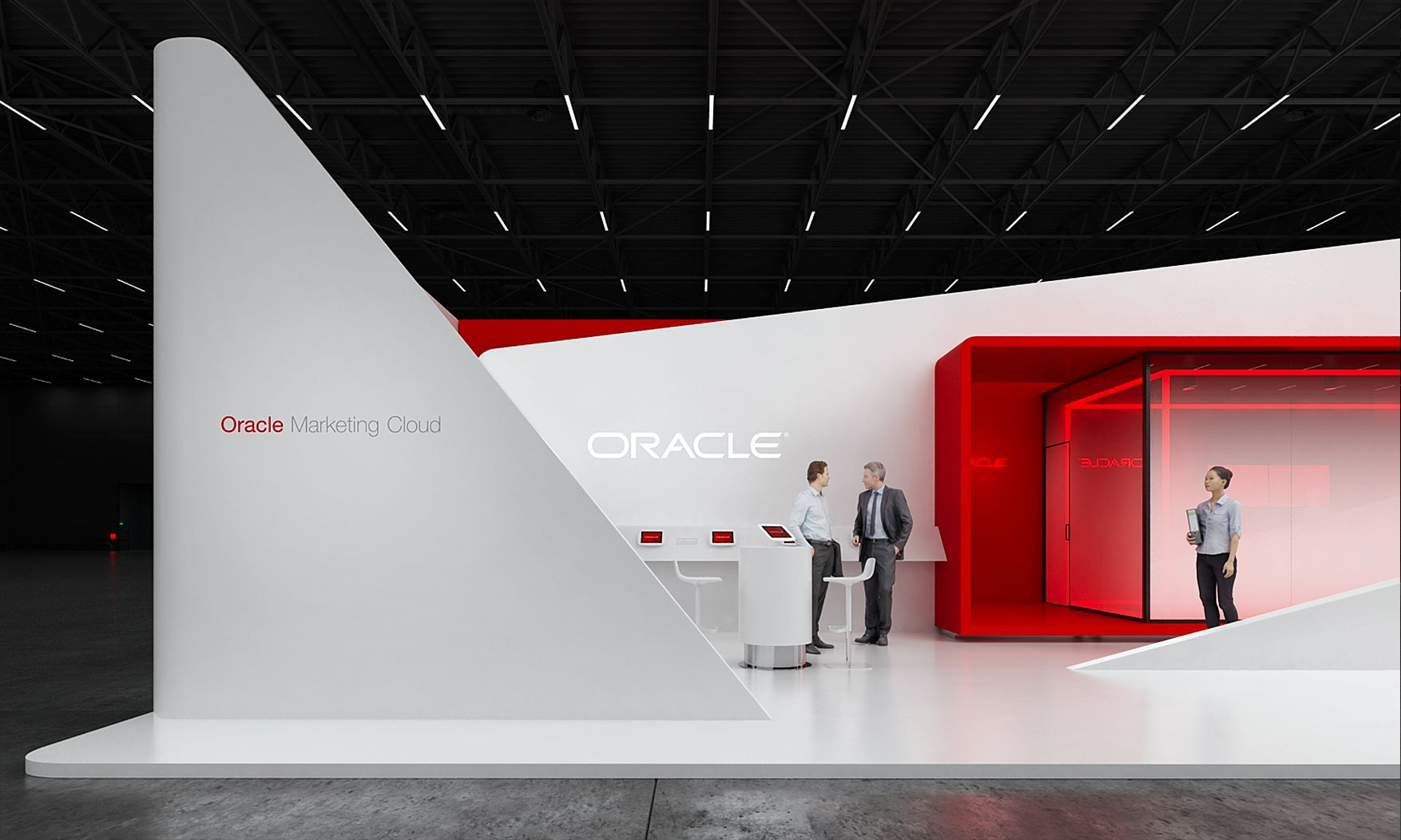 Oracle Exhibition Stand Design Idea Gm Stand Design