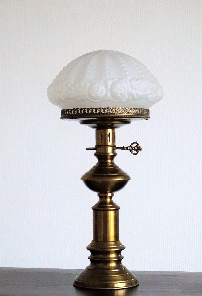 Jugendstil Tischlampe Antik Tischleuchter Stehlampe Art Nouveau Table Lamp 58 Cm Stehlampe Jugendstil Lampe