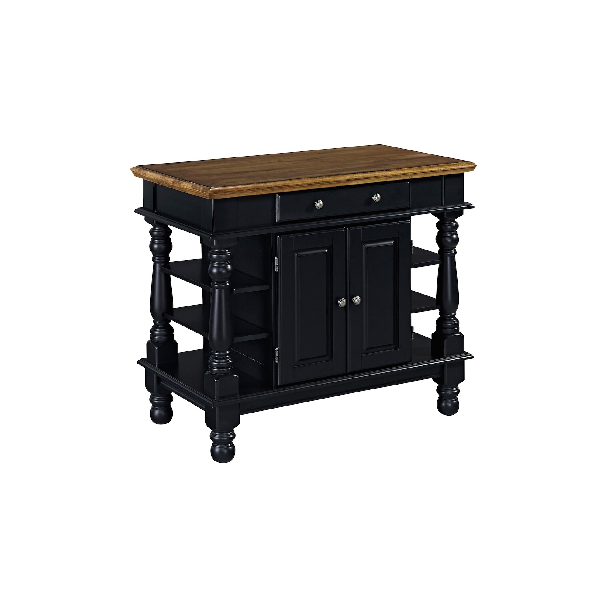 Americana Kitchen Island Black Home Styles Products