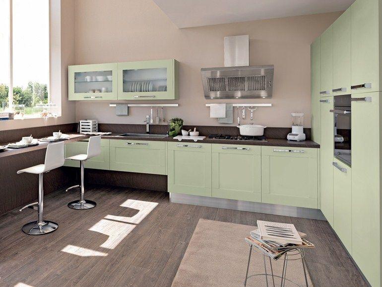 Immagini Cucine Moderne Con Finestra.Cucina Penisola Piano Snack Sotto Finestra Cerca Con