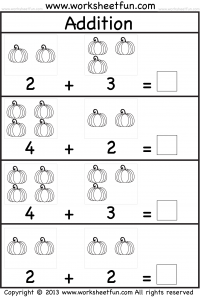pumpkin picture addition worksheet kindergarten worksheets kindergarten addition worksheets. Black Bedroom Furniture Sets. Home Design Ideas