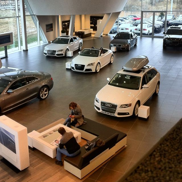 Audi Dealership - Excellent Design