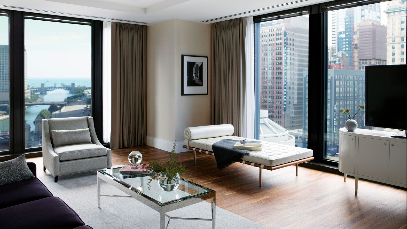 Clic River View Suite Chicago Luxury Hotel The Langham