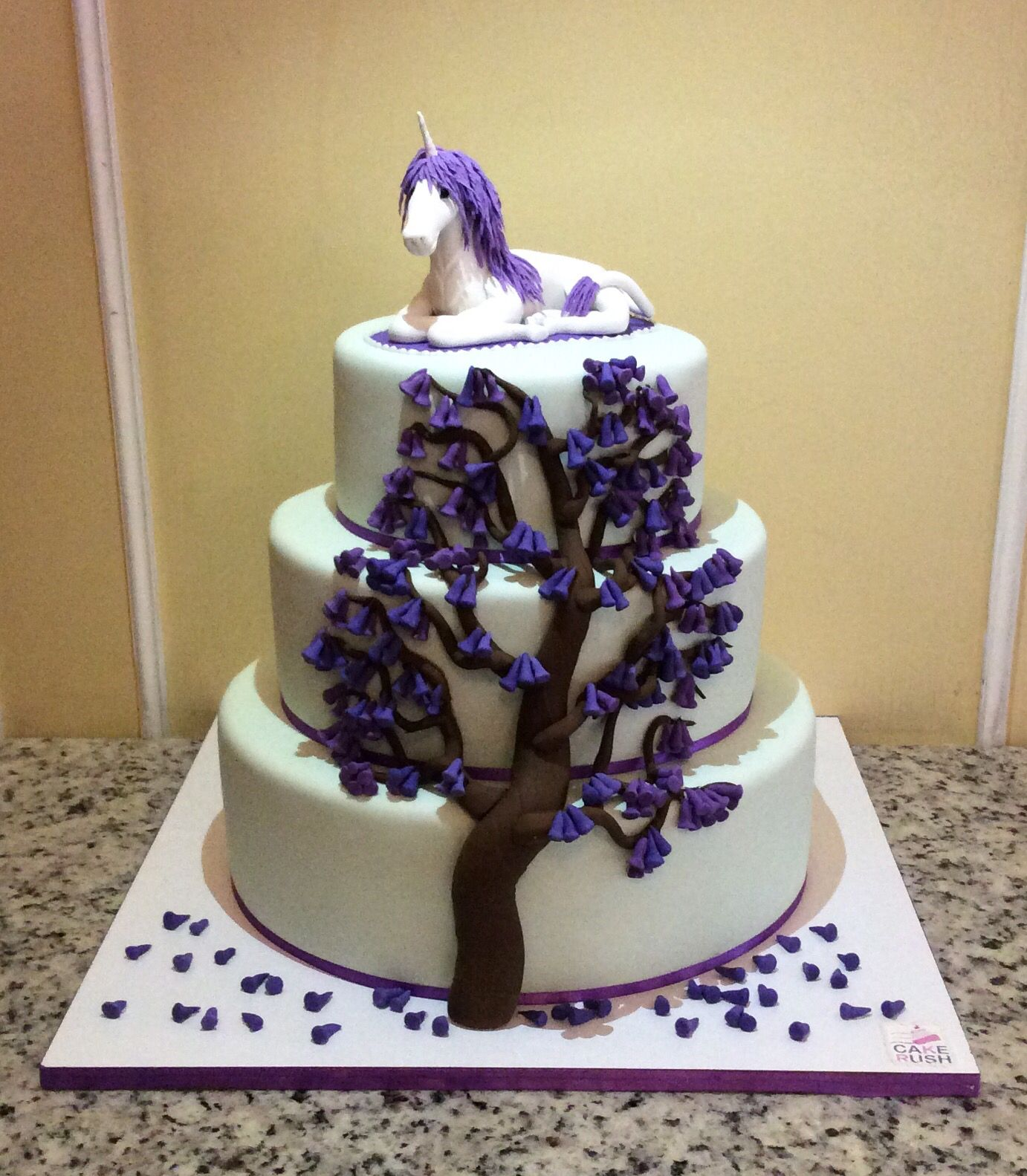 Rose Revived Birthday Cake