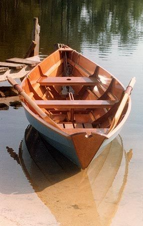 plywood dory | ... Rowing: Construction Methods: Lapstrake Plywood and Strip Planking | boat ...