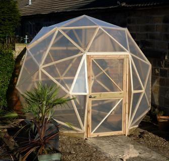 half dome greenhouse - Google Search