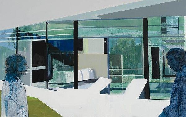 Kenneth Blom · Love · 2009 · 110 x 175 cm