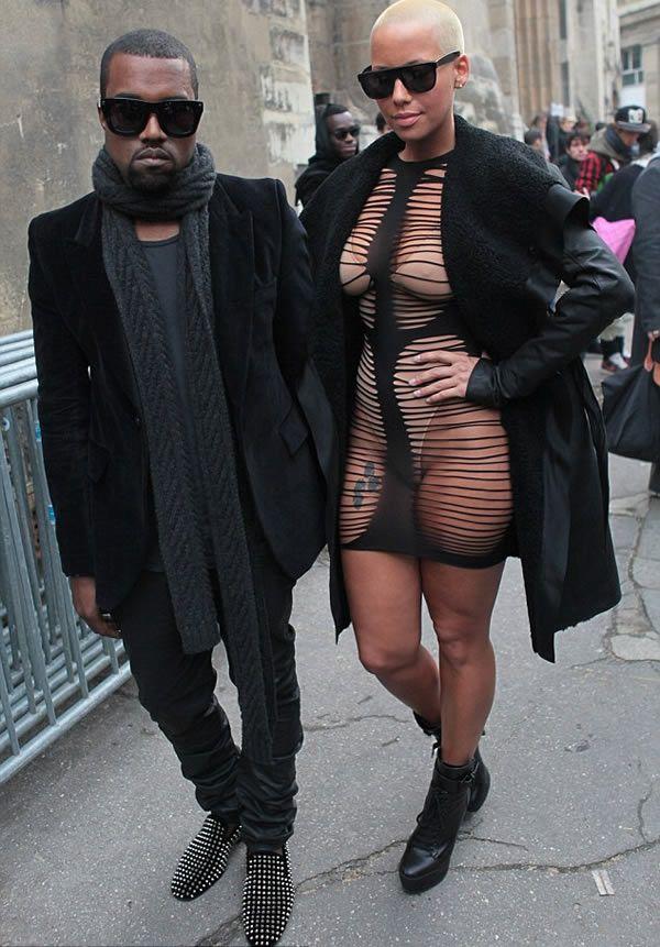 Battle Of The Bras Amber Rose Vs Kim Kardashian Amber Rose Amber Rose Style Kanye West