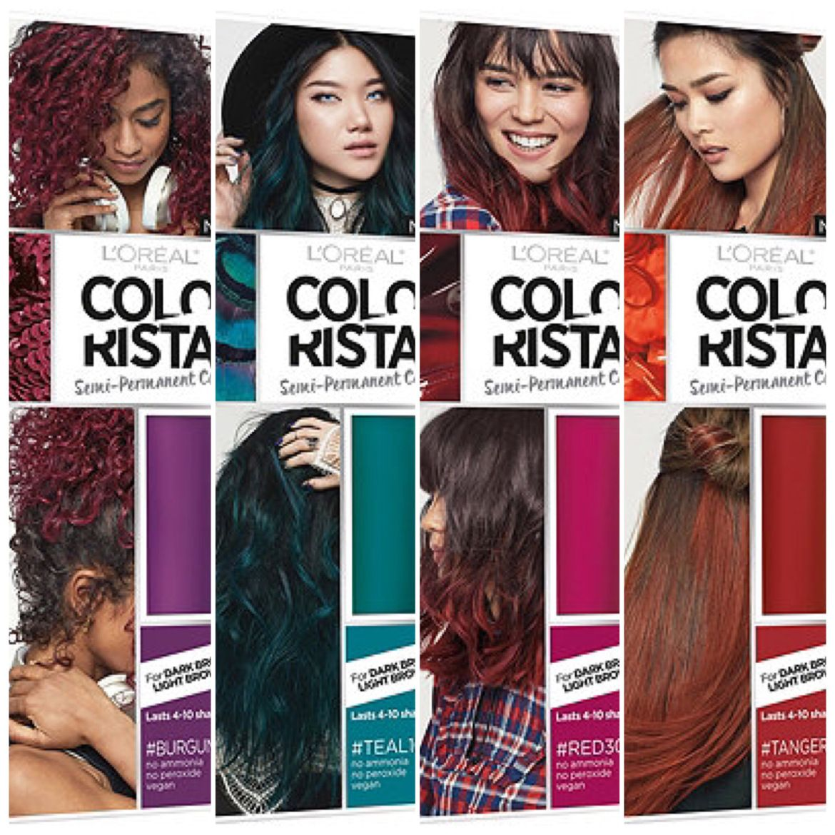 Review L Oreal Colorista Semi Permanent Hair Dye Semi Permanent
