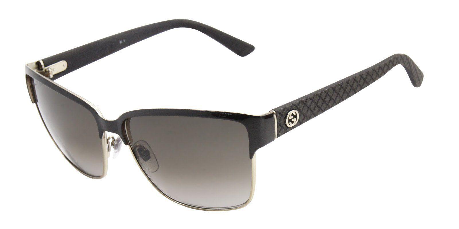 48638e58e87 Gucci - 4263 s Gold - Brown-sunglasses-Designer Eyes