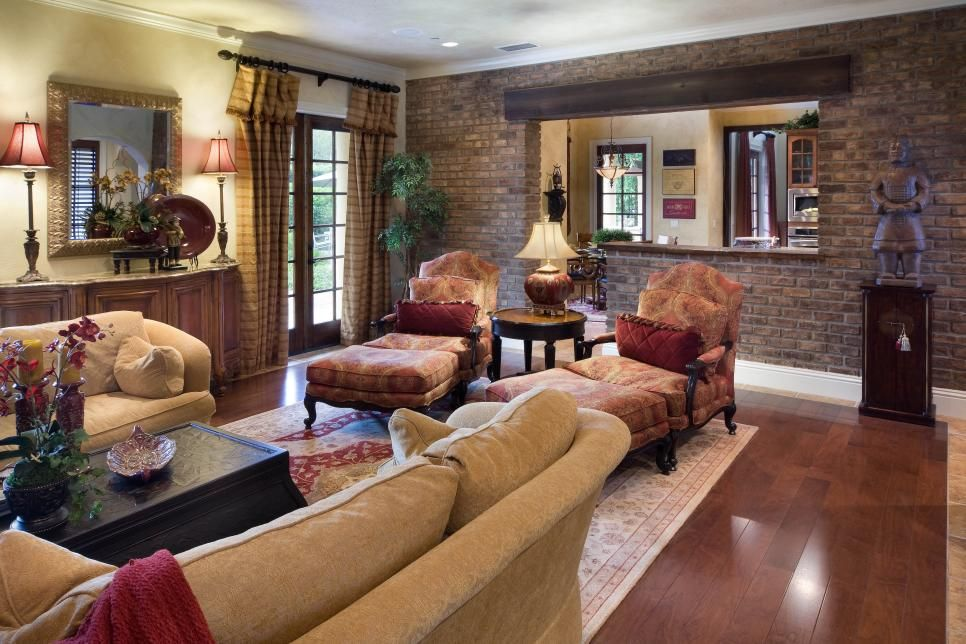 Love Everything About This Room Tuscan Living Rooms From Jorge Ulibarri On HGTV