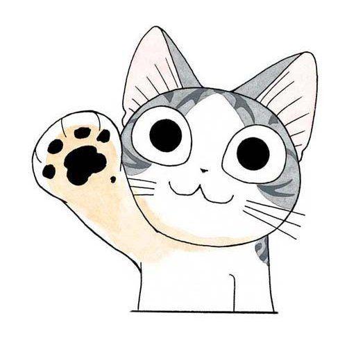 Pin de Diann O\'Connor en cats | Pinterest | Gato, Gatos kawaii y ...
