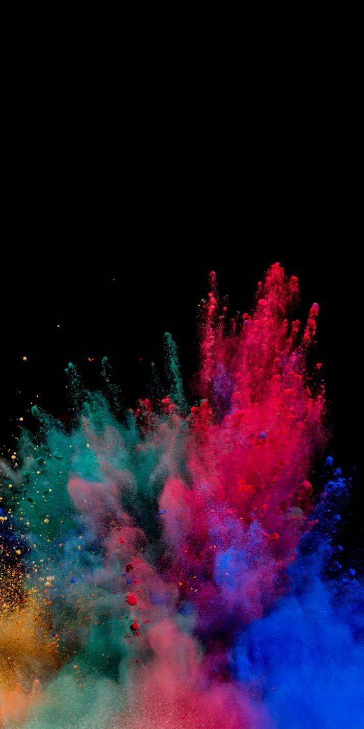 Color Bomb Colourful Wallpaper Iphone Crazy Wallpaper Smoke Wallpaper