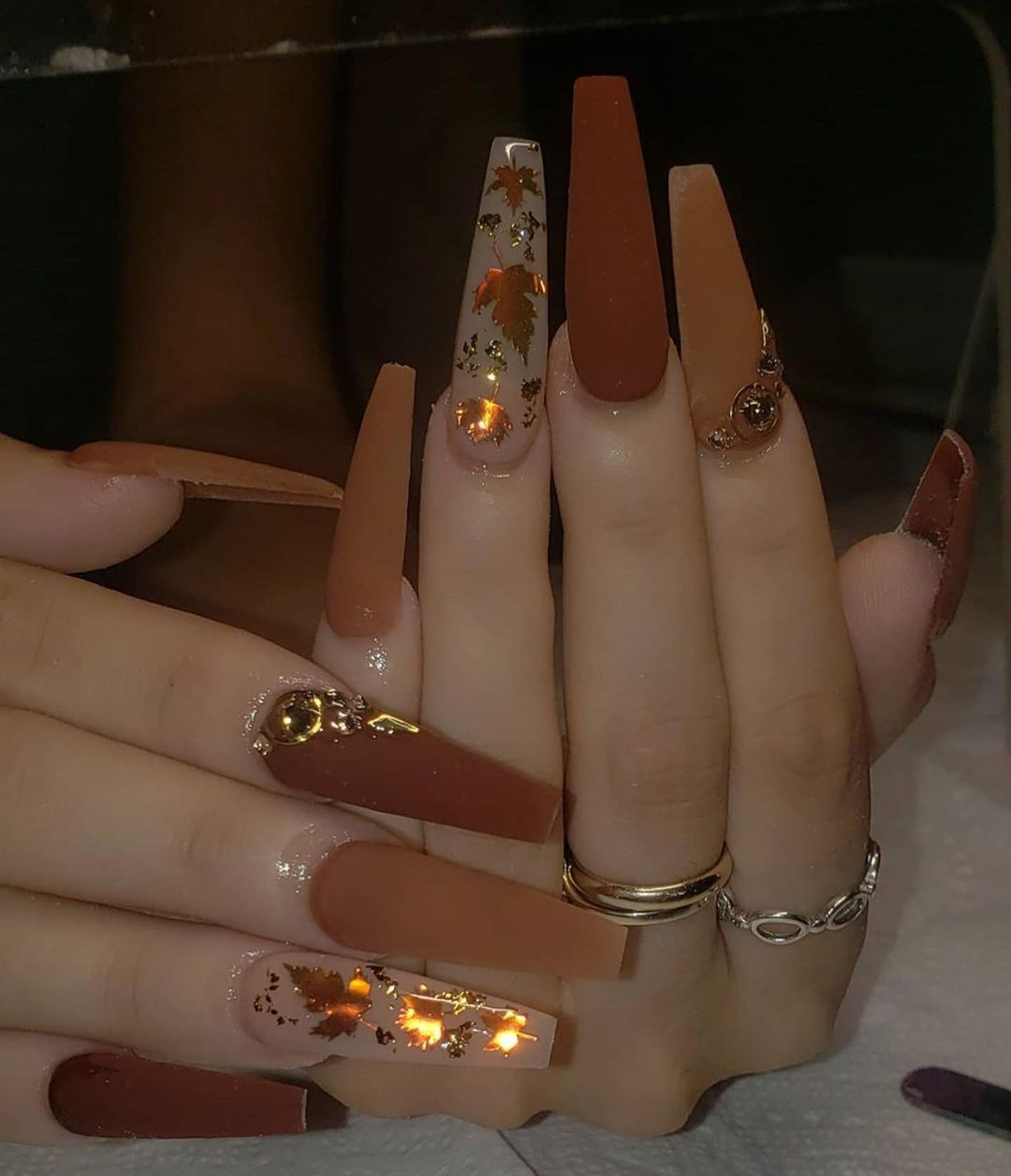 50 Fall Nail Art Ideas to Copy Right Now