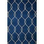 Bliss Navy (Blue) 7 ft. 6 in. x 9 ft. 6 in. Indoor Area Rug