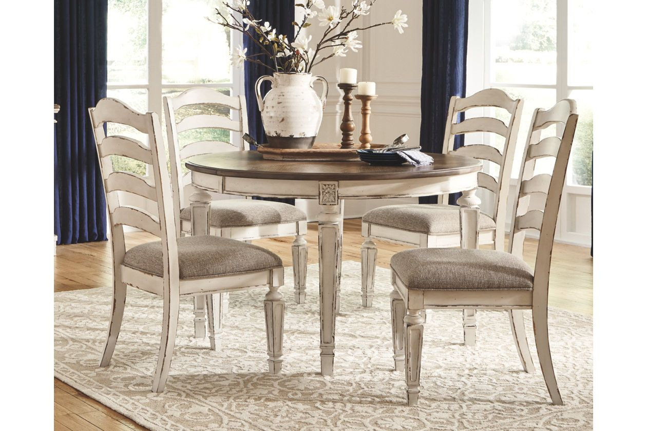 Realyn Dining Room Table Ashley Furniture Homestore Ashley