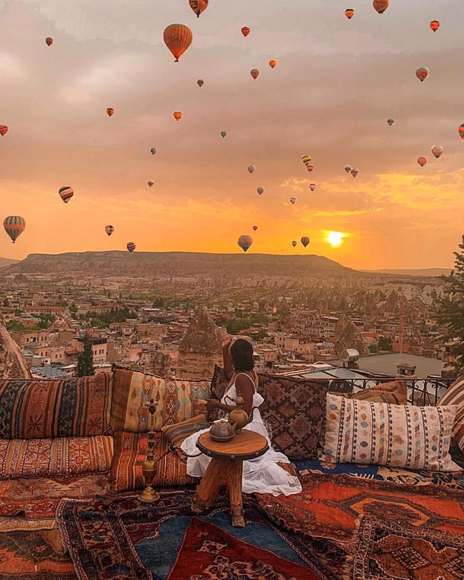 , These 15 women brought melanin magic to Cappadocia so buckle up and enjoy the ride because theyre going all the way up, Travel Couple, Travel Couple