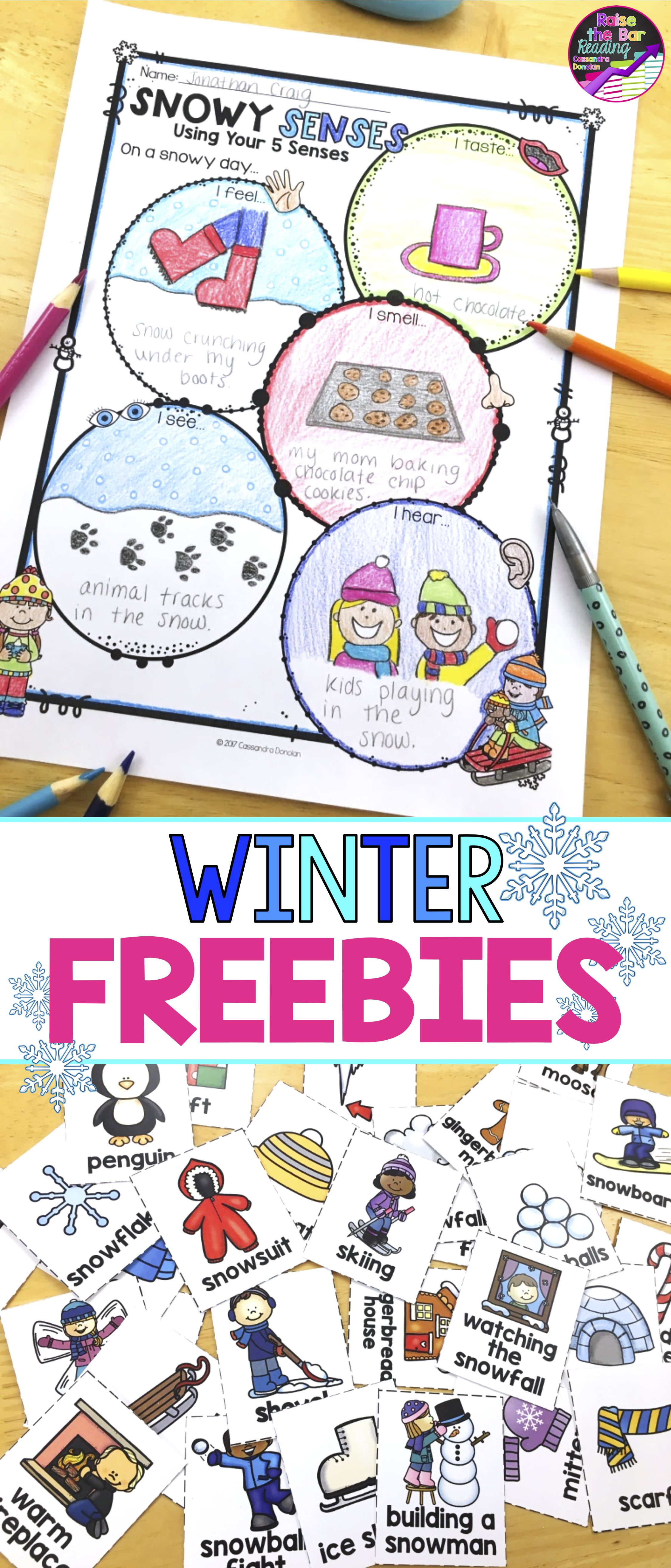Free No Prep Winter Activities To Keep Your Students Engaged These Free Winter Themed Activities Include W Vocabulary Cards Winter Writing Winter Kindergarten [ 5250 x 2250 Pixel ]
