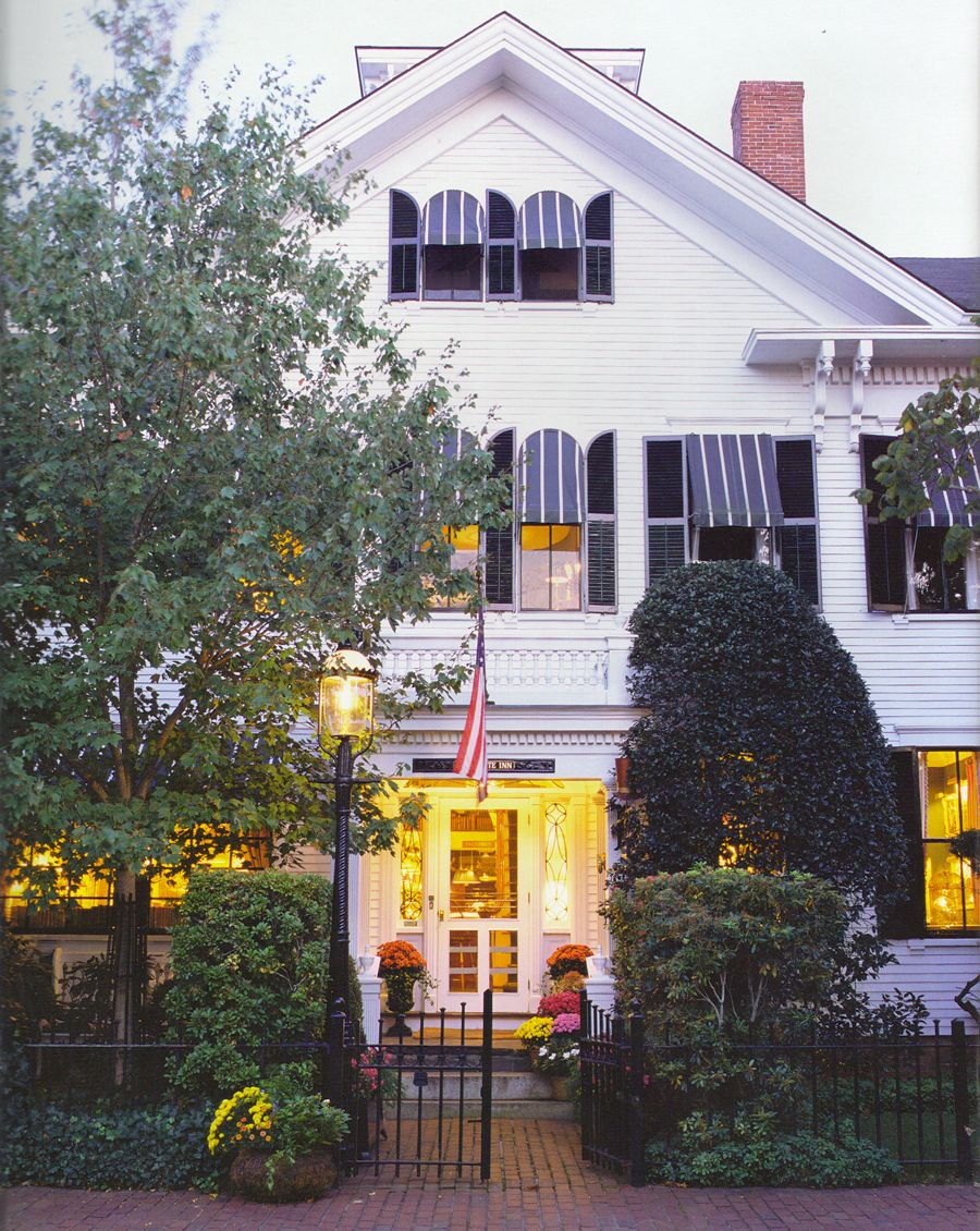 stayed at The Charlotte Inn in Edgartown, Martha\'s Vineyard. I had ...