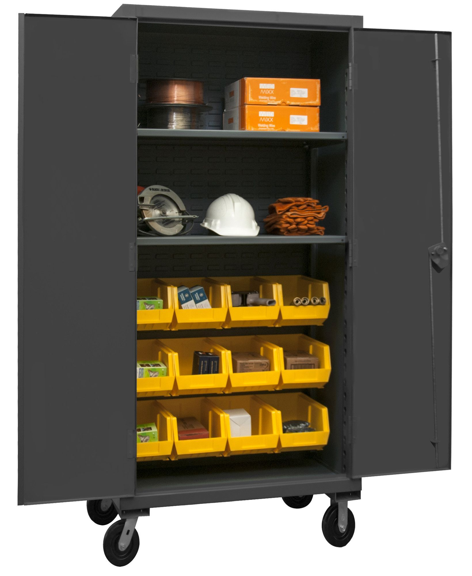 80 h x 36 w x 24 d lockable mobile cabinet products rh pinterest at