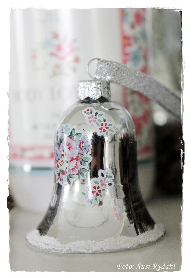 Greengate Christmas Bell Millie Silver available at www.originated-shop.nl
