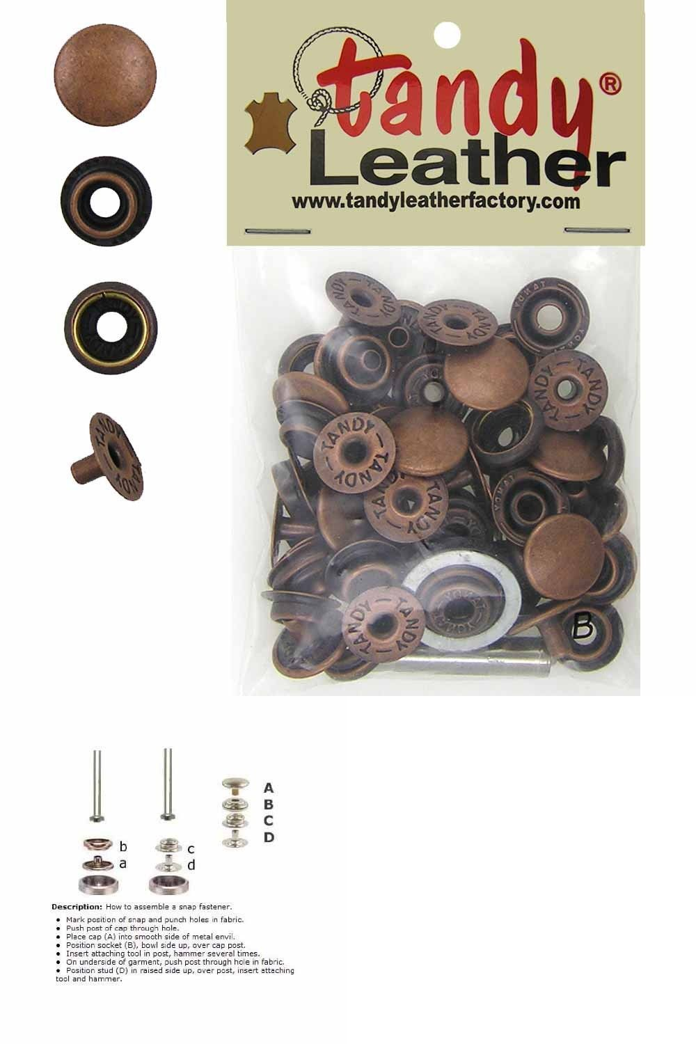 25 Dura Snap Upholstery Buttons Metallic Bronze Choice Of Size And Screws