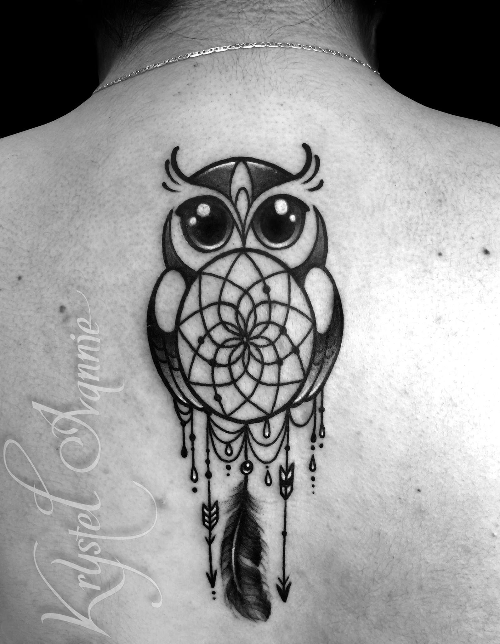 Owl Tattoo Dream Catcher Tattoo Pinterest Tatuaje Buho