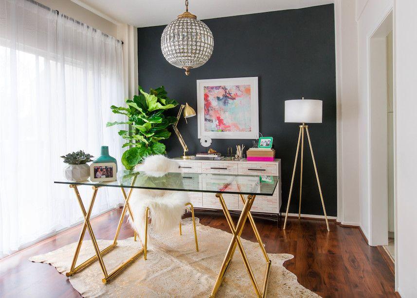 Video Youtube Star Desi Perkins's Living Room Makeover  Living New Living Room Make Over Design Inspiration