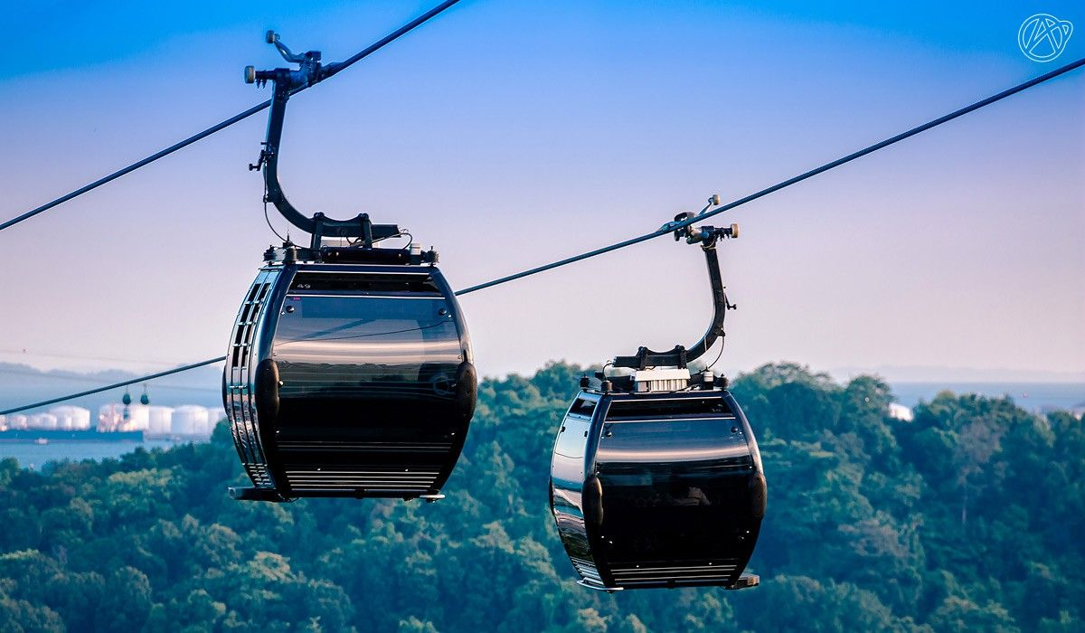 Cable Cars In Singapore Travel Around The World Cable Cars Singapore