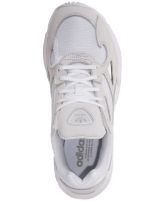 b311c090a32d adidas Women s Falcon Athletic Sneakers from Finish Line - White 7 ...