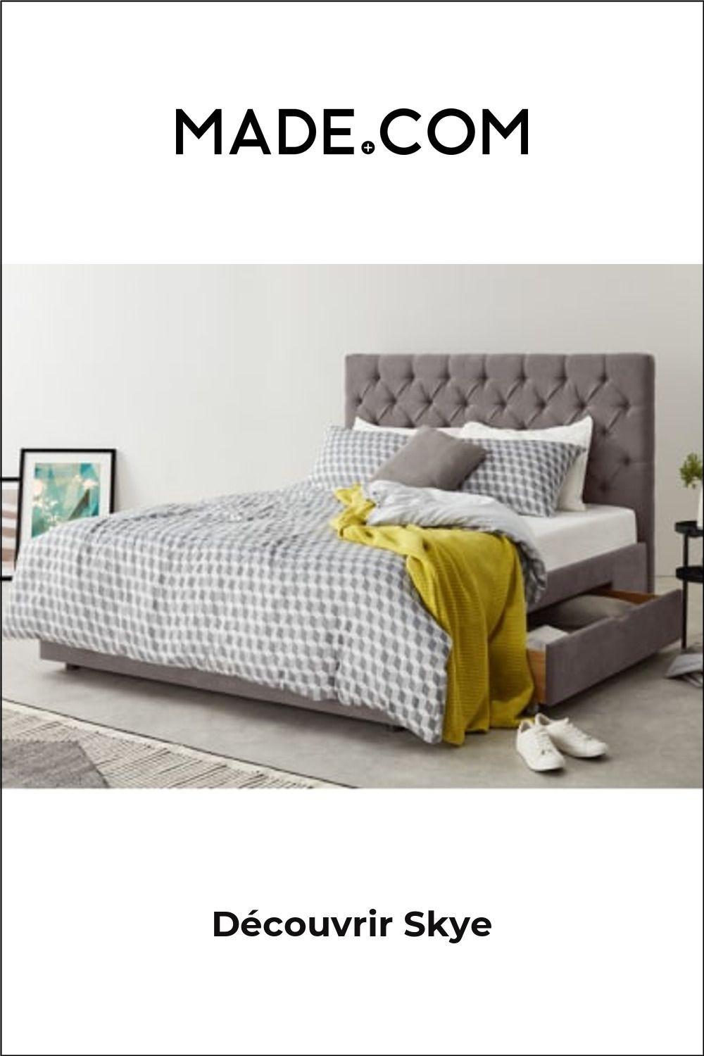 Pin On Products In 2020 Double Bed With Storage Bed Storage