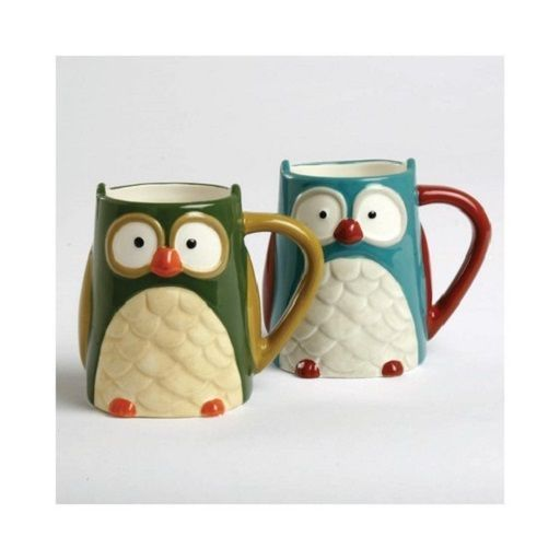 202774 TAG Oliver Owl Coffee Tea Mug Cup Kitchen Home Forest Nature Hoot Harvest