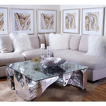 Lovely Sequoia Coffee Table   Coffee Table With Glass Top