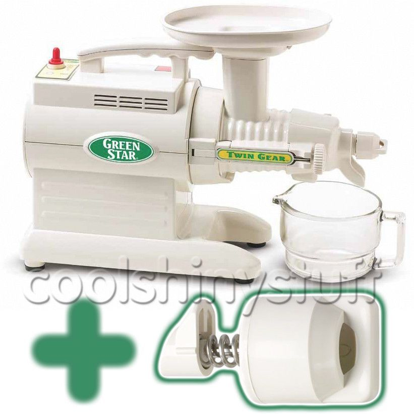 Green Star Gs 3000 Masticating Juicer Greenstar Gs3000 +