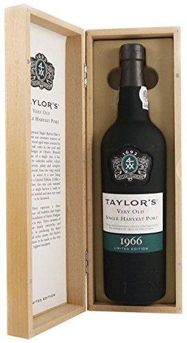 Taylor S Very Old Single Vintage 1966 Port Wine Gift Box 75 Cl