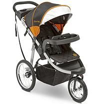 Jeep Unlimited Range Jogger By Delta Children Trek Orange Tonal