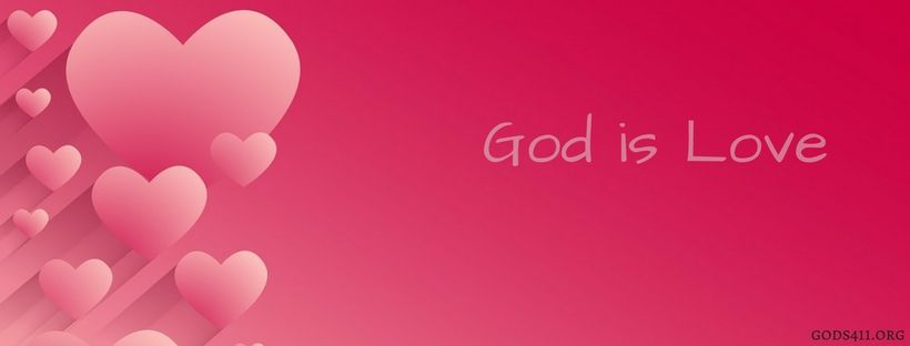 God Is Love Christian Facebook Cover Facebook Cover Photos