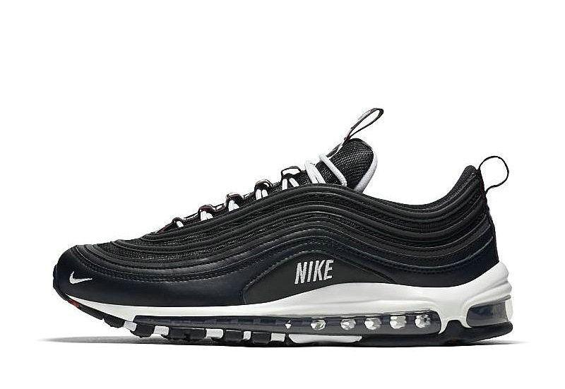 Nike Air Max 97 Premium (Black) 312834 008 | sneakers in