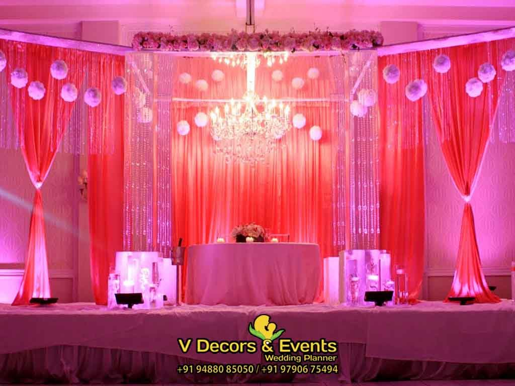 Wedding stage decoration with balloons  Pin by Vinay on Wedding Planner in Cuddalore  Pinterest  Wedding