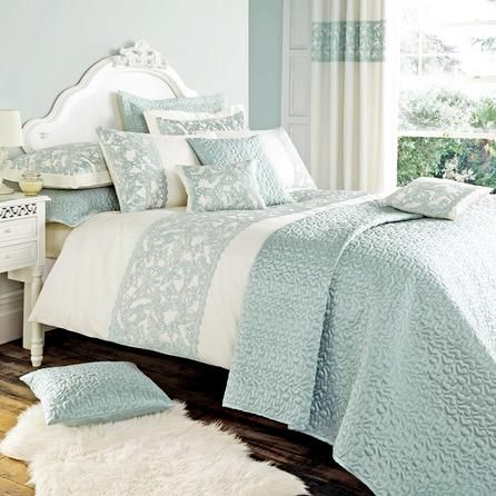 Duck Egg Evie Butterfly Collection Duvet Cover Dunelm Duck Egg Bed Linen Duck Egg Bedding Bedroom Design