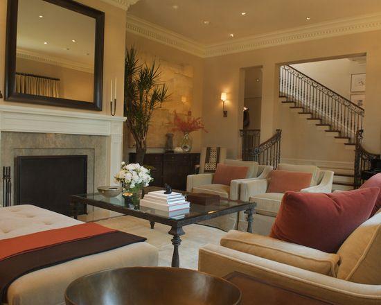 16 große Wohnzimmer Design und Dekor Ideen mit Samt Möbel   neuedekorationsideen   Warme ...