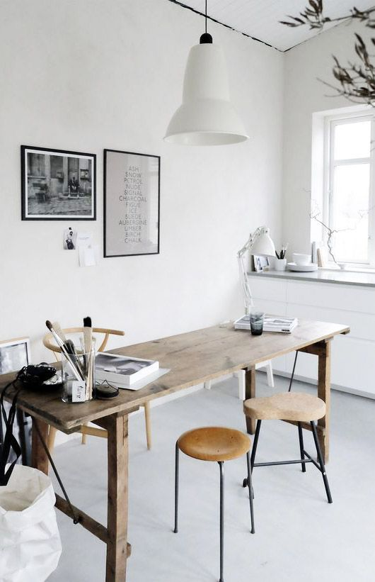 Live Simply Workspace Design Home Office Design Workspace