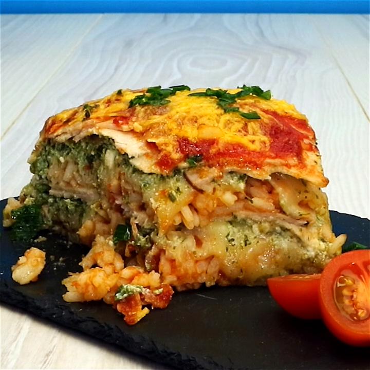 Photo of Reis-Lasagne