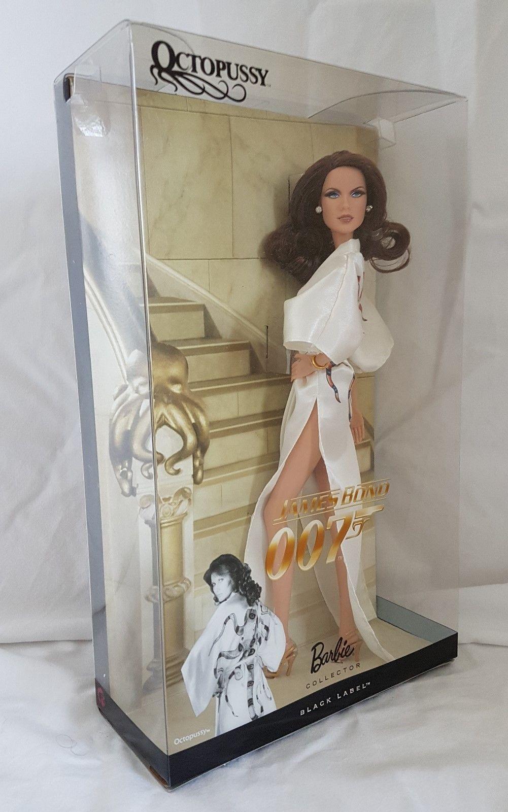 James Bond 007 Octopussy Barbie Black Label Edition Ebay