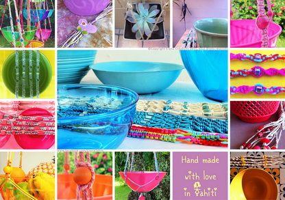 Erena Créations à partir du vendredi 22/05 !   Restaurant-terrasse  Les Petits Ventres, rue Dumont d'Urville à Papeete#tahiti #macrame #deco #kusmitea #colors #design