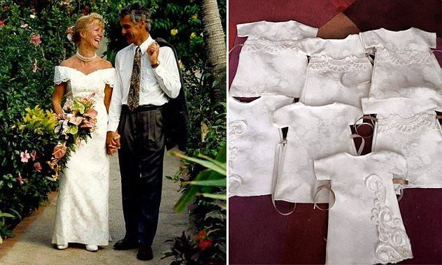 Womans Wedding Dress Is Turned Into Funeral Gowns For Stillborns
